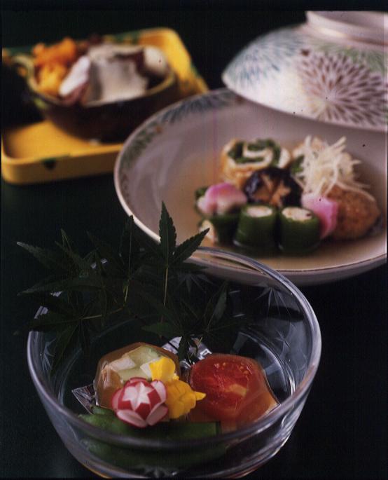 泉仙「ミディトマトの 煮こごり」