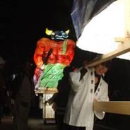 粟田神社大祭 粟田大燈呂 夜渡り神事 粟田神社 牛頭天王