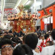祇園祭 還幸祭 八坂御供所 西御座 八柱御子神