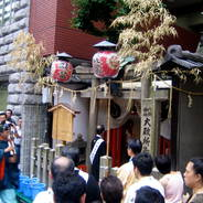 祇園祭 還幸祭 後祭 中御座神輿 東御座神輿