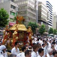 祇園祭 還幸祭 中御座神輿