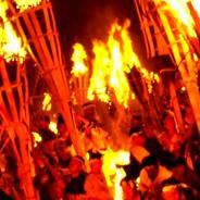 鞍馬の火祭 由岐神社