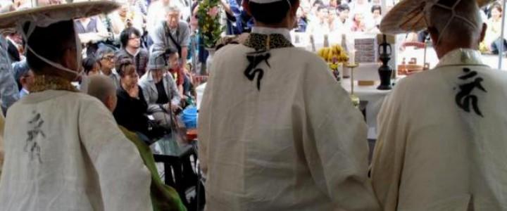 巽橋で祇園放生会が行われました