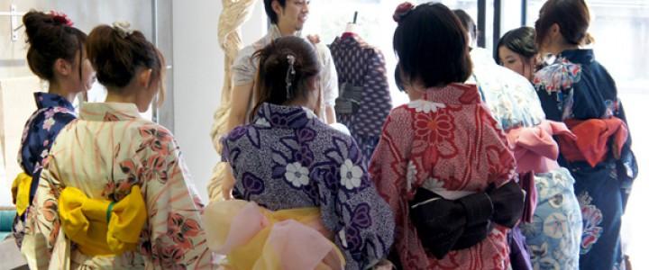 留学生 X 浴衣 X 祇園祭