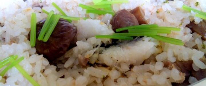 栗と鱧のご飯と花てまり弁当・・・/菊乃井・下鴨福助