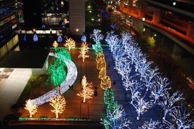 京セラ本社イルミネーション2012