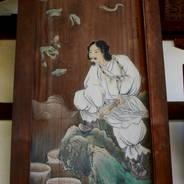 初詣 狛兎 狛犬 岡崎神社 スサノオノミコト