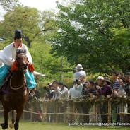 葵祭 足汰式  上賀茂神社