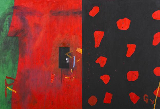 上野憲男「火と種子」 2012年 何必館・京都現代美術館蔵