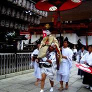 祇園祭 生稚児結納の儀 八坂神社