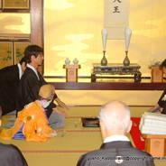 祇園祭 生稚児結納の儀  綾傘鉾 常盤御殿