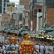 神輿洗い 祇園祭