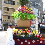 後祭 祇園祭 神饌行列 花車