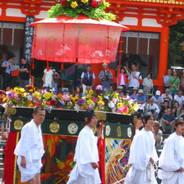 後祭 祇園祭 花傘 八坂神社青年会