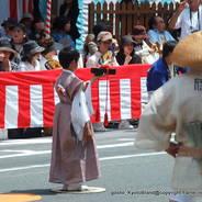 祇園祭 くじ取り式 山鉾巡行 保昌山