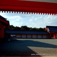 京都御所秋季一般公開  京都御所 回廊