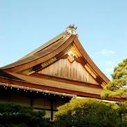 京都御所秋季一般公開    京都御所 小御所
