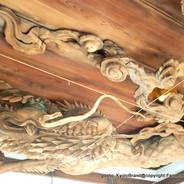 初詣 狛犬 狛龍 パワースポット  瀧尾神社