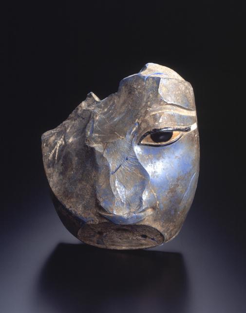 ファラオ頭部(おそらくアメンホテプⅢ世) エジプト 前1400年-前1350年 H16.8cm×W16.2cm×D10.5cm MIHO MUSEUM蔵