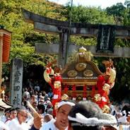 剣鉾 粟田祭 粟田神社 (感神院新宮)