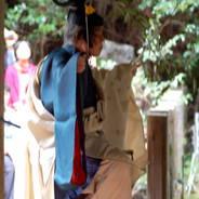 神嘗祭 秋季例大祭 御神楽 人長舞  日向大神宮