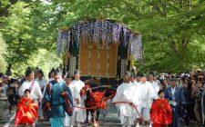 「葵祭」行列が中止