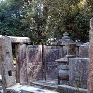 墓標 二尊院