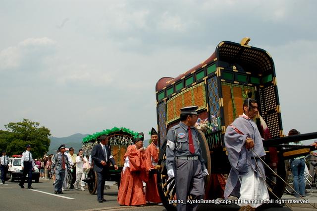 嵐山に平安の雅な船遊びが再現される三船祭/車折神社