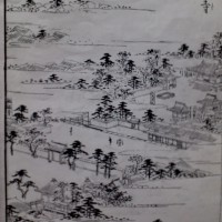 珍皇寺全景図『都名所図会』