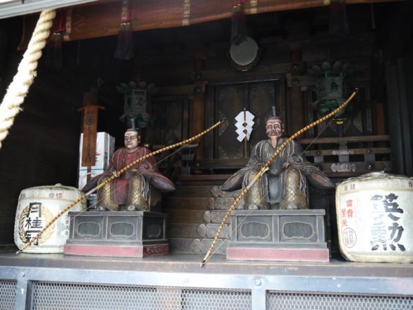 四条御旅所は、静かに時を待っている。 7月17日の神幸祭に八坂神社からの中御座、東御座、西御座の神輿が渡御し、24日の還幸祭までとどまる場所。