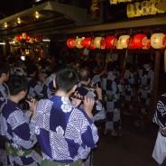 日和神楽を奉納する岩戸山