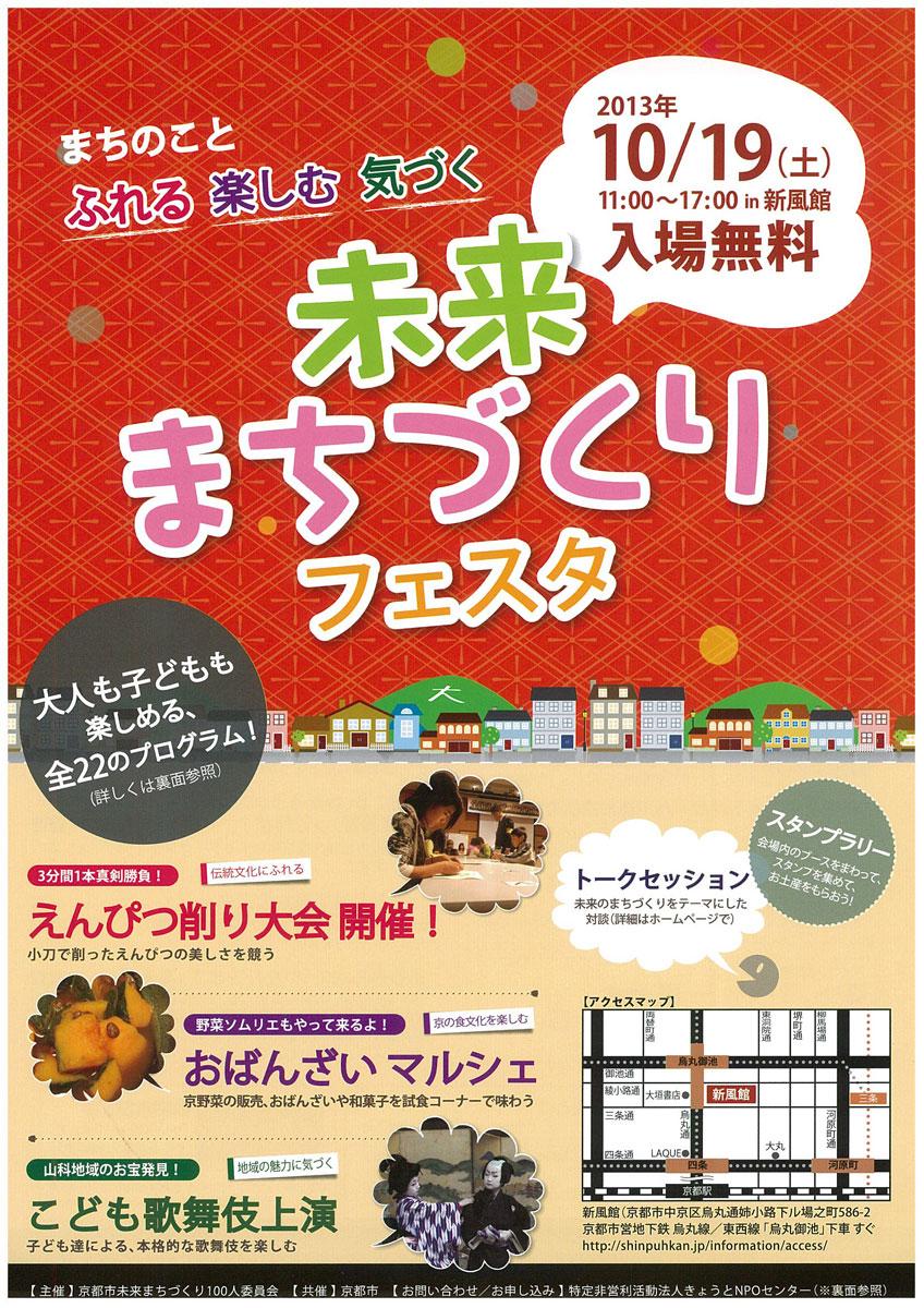 こんな京都を提案「文化が息づくエコなまち」