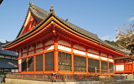 清水寺 経堂