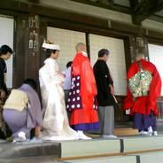 婚礼の儀 仏前結婚式