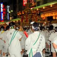 祇園祭  神幸祭 八坂神社四条御旅所 素戔嗚尊