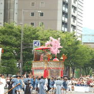 祇園祭 山鉾巡行 黒主山