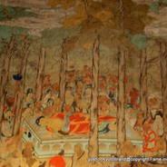 涅槃会 東福寺 釈迦 九条道家 聖一国師 明兆