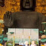 平城遷都1300年祭 本坊障壁画奉納式 東大寺大仏殿