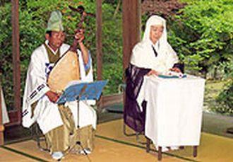 筑前琵琶で語る「平家物語」