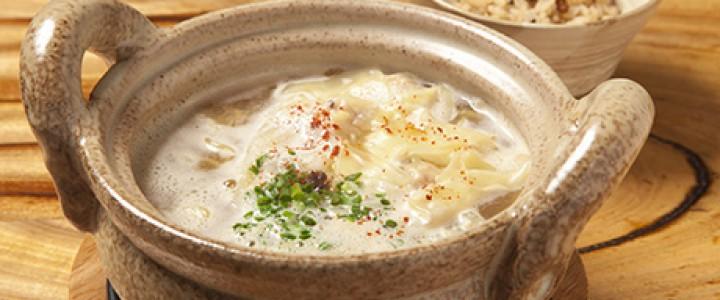 「2013ファイナル 蛸だしラーメン」 干し蛸から旨味があふれだす、未体験の滋味深きスープ。