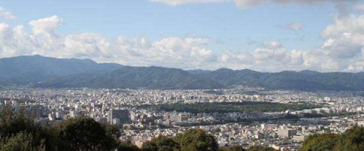 7  将軍塚からの眺望