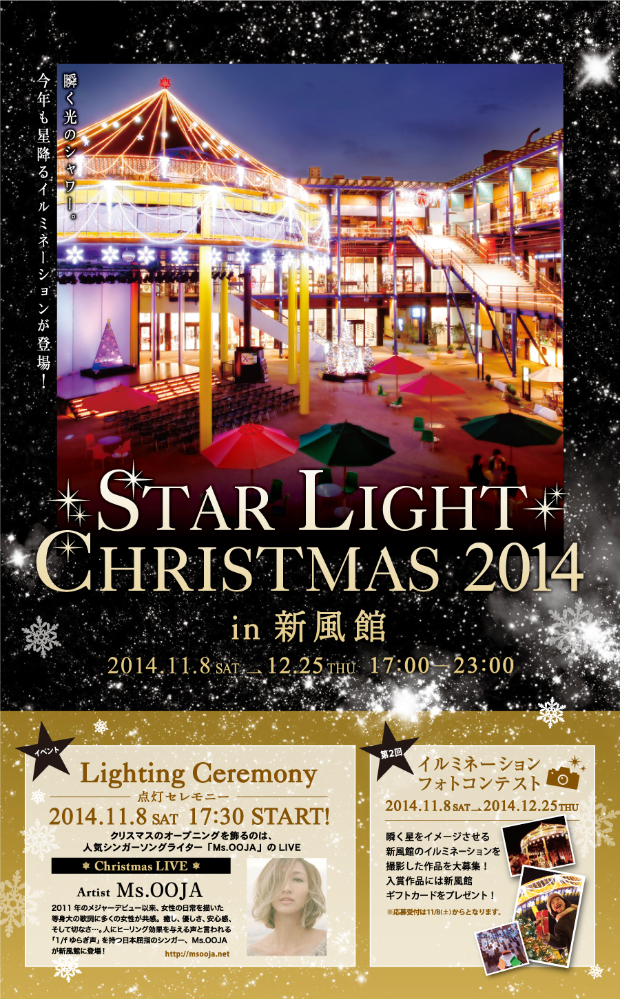 STAR LIGHT CHRISTMAS 2014