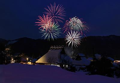 花火開催日は1月31日(土)と2月7日(土)のみ。