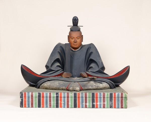 重要文化財 木造徳川家康坐像 江戸時代前期(知恩院蔵)