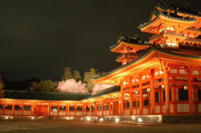 平安神宮紅しだれコンサート2017