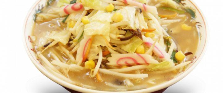 魁力屋「野菜たっぷりタンメン」が新登場