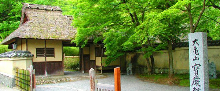春の特別拝観2018☆嵐山の新緑と名画/宝厳院・弘源寺