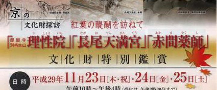 京の文化財探訪・紅葉の醍醐を訪ねて
