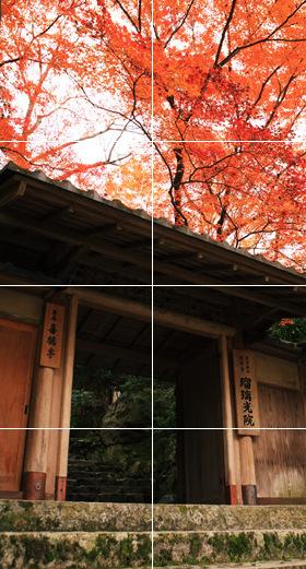 瑠璃光院 秋の特別拝観 2017
