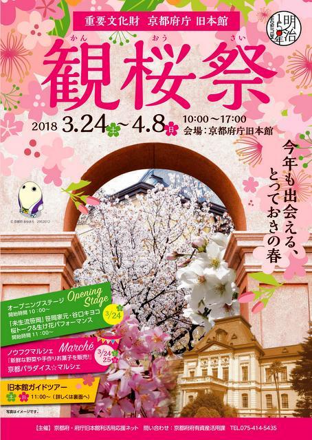 京都府庁旧本館 観桜祭2018